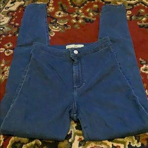 Super comfy adorable high waisted dark wash jeans